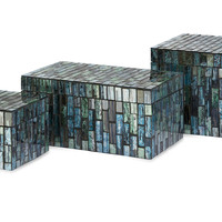 Aramis Mosaic Boxes - Set of 3