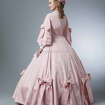 Civil War - Gone with the Wind Dress - Butterick 5543