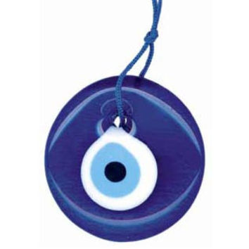 Evil Eye Glass Ornament