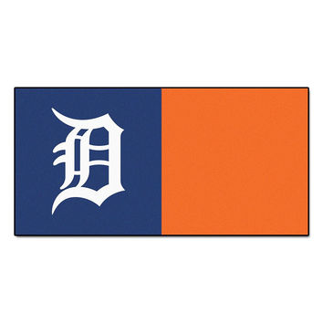 Detroit Tigers MLB Team Logo Carpet Tiles