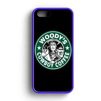 Woodys Cowboy Coffee iPhone 5 Case iPhone 5s Case iPhone 5c Case