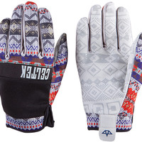 Celtek Misty Snowboard Gloves - Fair Isle