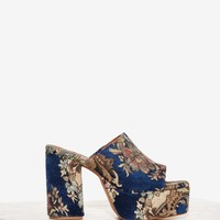Jeffrey Campbell Pilar Tapestry Mule
