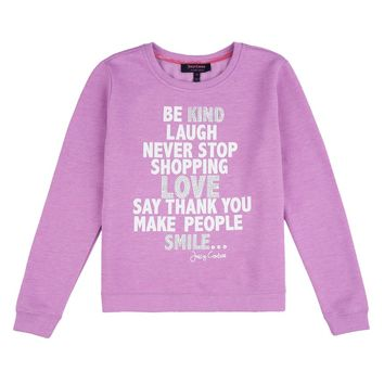 Girls Graphic Sweat Pullover by Juicy Couture