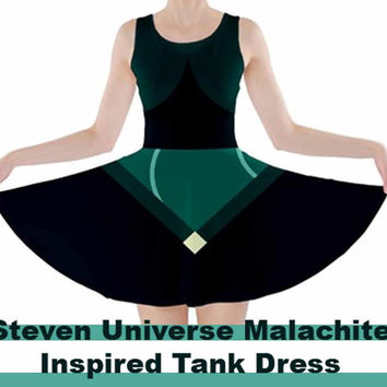 Malachite Steven Universe inspired dress
