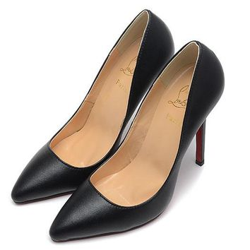Christian Louboutin Fashion Edgy Pointed Red Sole Heels Shoes