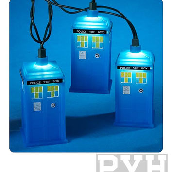 Doctor Who Christmas Lights