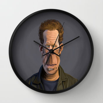 Celebrity Sunday ~ Tom Waits Wall Clock by Rob Snow