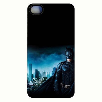 Hot sale Gotham city Batman plastic phone case cover for iPhone 4 4S 5 5S 5C = 1927812036