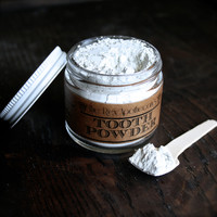Tooth Powder /// Sodium Fluoride Free // Vegan // 100% Actually Natural