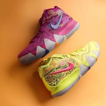 "Nike Kyrie 4 ""Multicolor"" Basketball shoes"