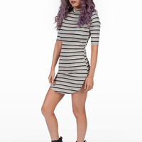 Kylie Stripe Curve Dress