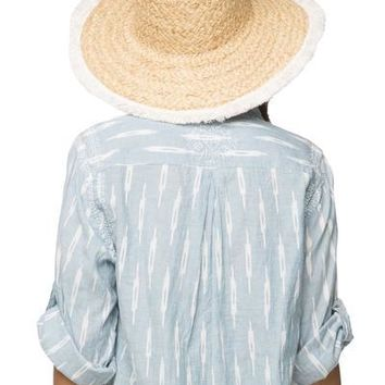 Aloha Hat in Natural Ivory