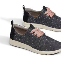 BLACK DOT CHAMBRAY WOMEN'S DEL REY SNEAKERS
