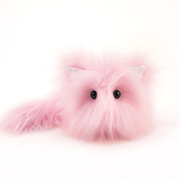Baby the Light Pink Cat Stuffed Animal Plush Toy