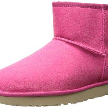 UGG Women's Classic Mini Canvas Winter Boot