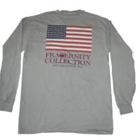 Fraternity Collection - Patriotic Grey