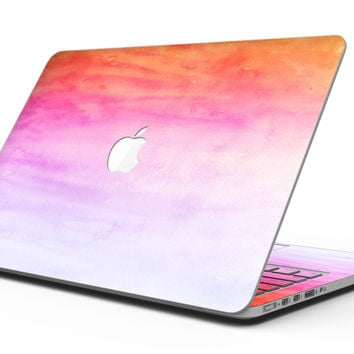 Pink 8682 Absorbed Watercolor Texture - MacBook Pro with Retina Display Full-Coverage Skin Kit