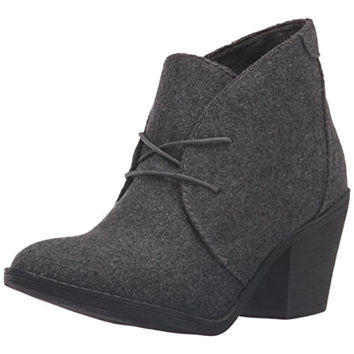Blowfish Womens Wool Lace Up Booties