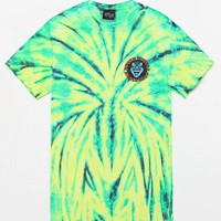 DCCKYB5 Santa Cruz Screaming Hand Tie-Dye T-Shirt