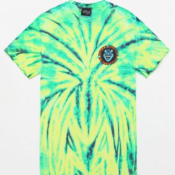 DCCKJH6 Santa Cruz Screaming Hand Tie-Dye T-Shirt