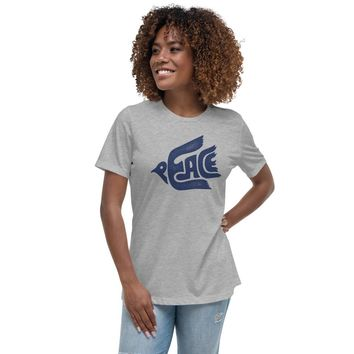 Peace Dove Women's Relaxed T-Shirt