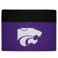 Kansas State University - iPad 2/3 Cover - Design 4 - Protective Leather and Suede Case
