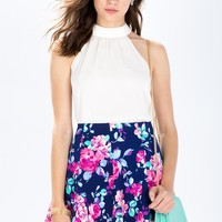 Blooming Beauty Skater Skirt