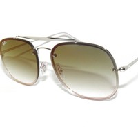 RAY BAN SunglaSSeS 3583N 3583 SILVER/GRADIENT GREEN MIRROR 003/W0 RAYBAN