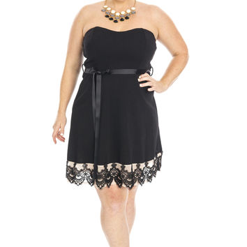 Amore Strapless Dress