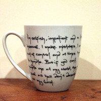 Marilyn Monroe Insecure Quote Coffee Cup Mug China