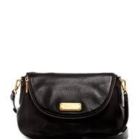 New Q Natasha Leather Crossbody Bag