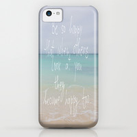 be so happy iPhone & iPod Case by Marianna Tankelevich