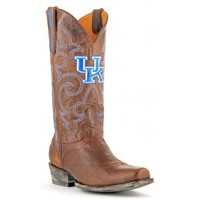 Gameday Boots Mens Leather Kentucky Board Room Cowboy Boots