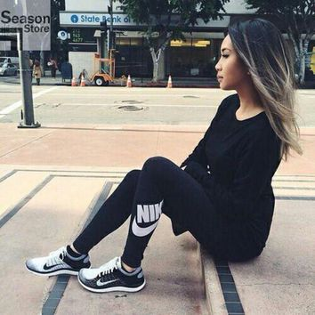 Nike Classic Logo Black Leggings One-nice™