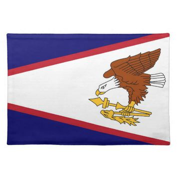 American Samoa Flag American MoJo Placemat
