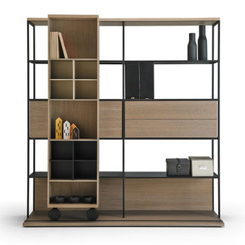 Literatura Open - Library shelving systems by Punt Mobles | Architonic