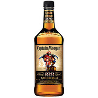 Captain Morgan 100 Proof Black Cask Spiced Rum 1.75L