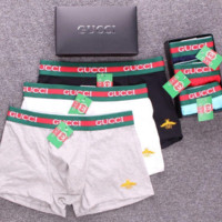 GUCCI Bees Underwear Soft Comfortable