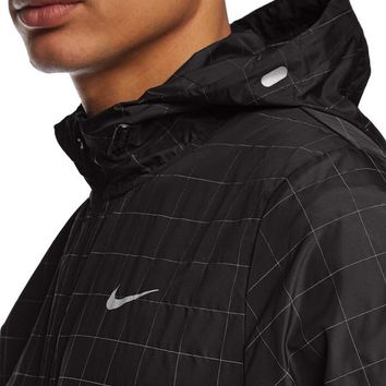 Nike Checkered Flash Men's Running Jacket (Medium)