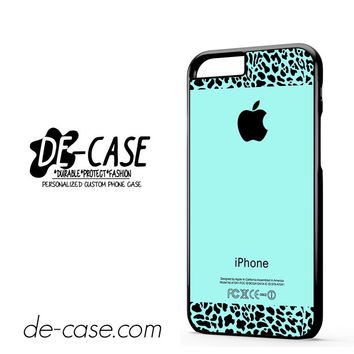 Tiffany Teal And Leopard Pattern For Iphone 6 Iphone 6S Iphone 6 Plus Iphone 6S Plus Case Phone Case Gift Present