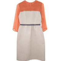 Ailanto Two Tone Dress | Les Pommettes