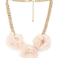 Blooming Chiffon Necklace