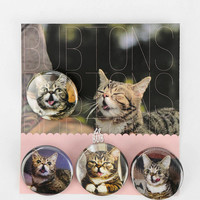 Lil BUB Pin - Set Of 4 - Urban Outfitters