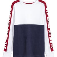 Color-block Jersey Shirt - from H&M