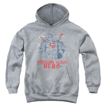 Superman - Working Class Youth Pull Over Hoodie