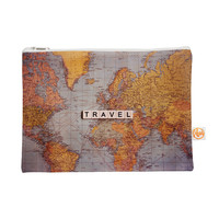 "Sylvia Cook ""Travel Map"" World Everything Bag"
