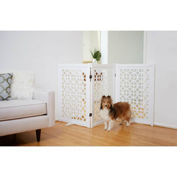 Primetime Petz Palm Springs Designer Pet Gate | Overstock.com Shopping - The Best Deals on Pet Gates