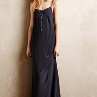 Despoina Silk Maxi Dress by Bella Luxx Dark Grey