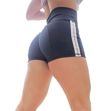 Sport Shorts For Women Push Hip Sexy Yoga Shorts High Waist Skinny Running Gym Shorts Women Casual Athletic Shorts #F30ST25